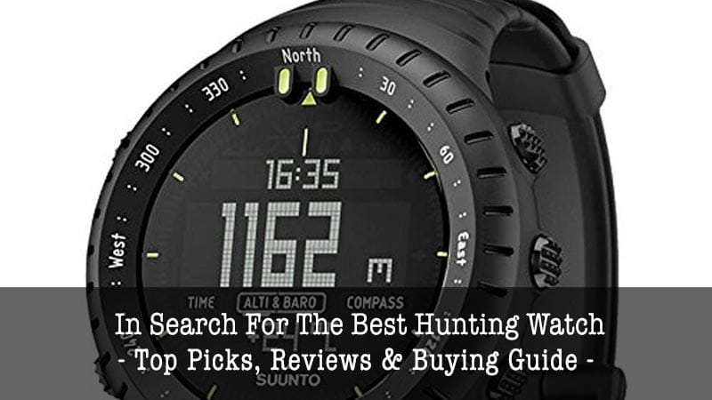 best hunting watch