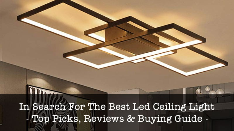 best led ceiling light
