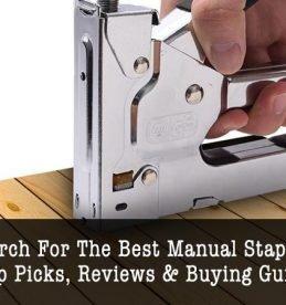 best manual staple guns