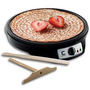 chefman 12 electric crepe maker & griddle
