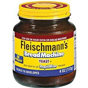 fleischmanns machine yeast