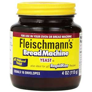 fleischmanns yeast for bread machines