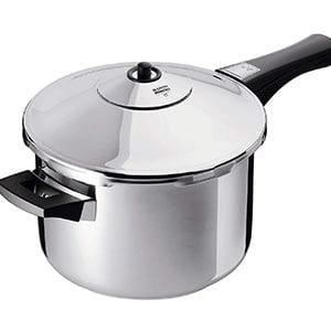 kuhn rikon duromatic stainless steel saucepan