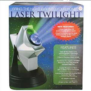 laser twilight indoor light show