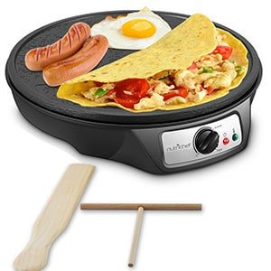 nutrichef nonstick 12 inch electric