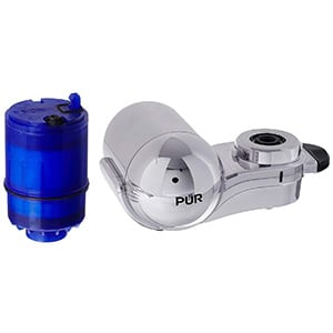 pur water filtration faucet mount