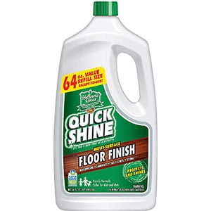 quick shine multi surface floor finish and polish