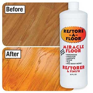 restore a floor floor finish