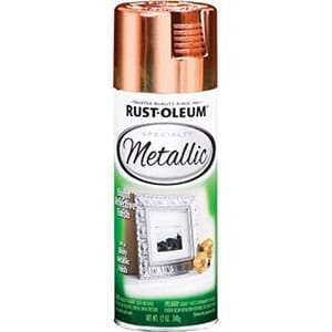 rust oleum metallic spray copper