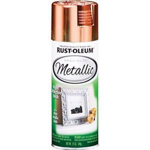 rust oleum metallic spray copper