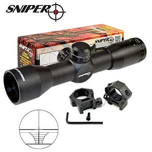 sniper compact rifle scope with ring