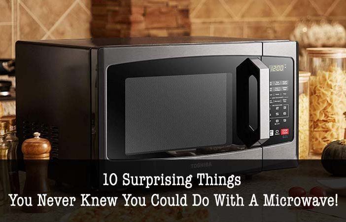 things you could do with a microwave