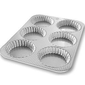 usa pan bakeware mini fluted