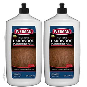 weiman wood floor polishand restorer