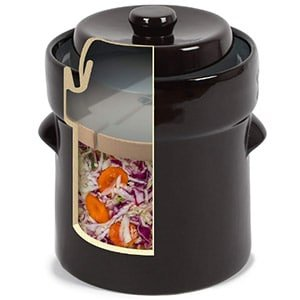 kenley fermentation 2 l crock jar