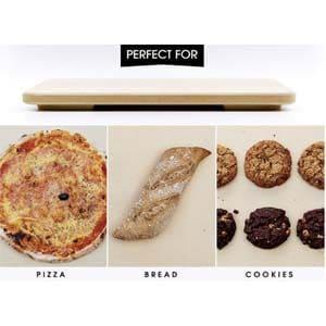"solido rectangular 14"" x 16"" pizza stone"