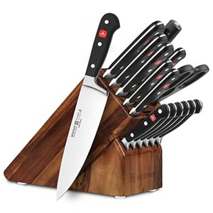 wusthof classic 16-piece knife block set reviews