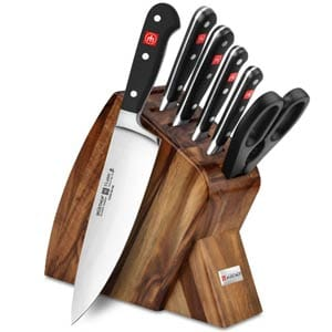 wusthof classic 7-piece knife block set reviews