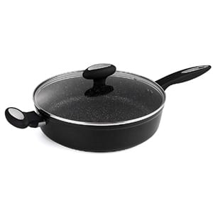 """zyliss cookware 11"""" nonstick with covered lid"""