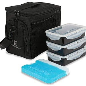 edc meal prep bag by evolutionize