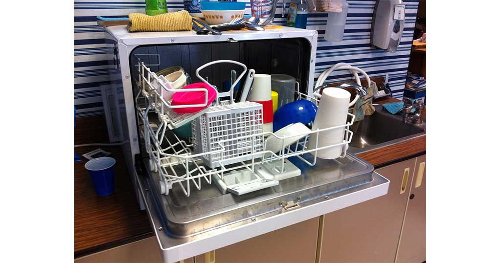 install a dishwasher