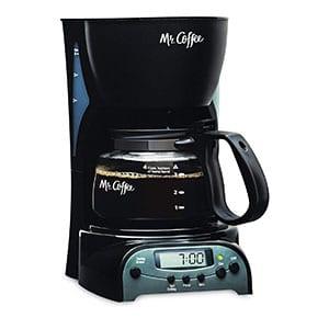 mr coffee programmable coffee maker