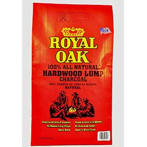 royal oak natural lump charcoal