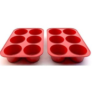 silicone texas muffin pans