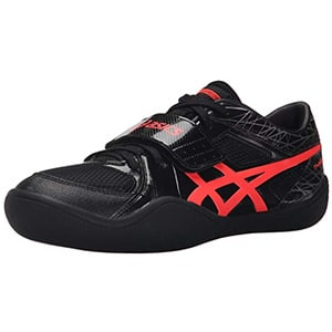 asics men's throw pro track shoes