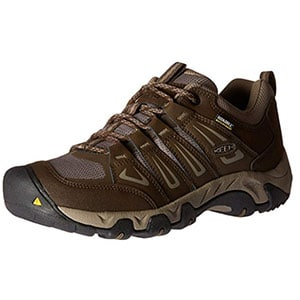 keen men's oakridge waterproof hiking shoes