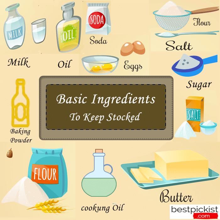 basic ingredients to keep stocked1