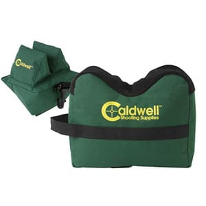 caldwell deadshot boxed combo front and rear bag