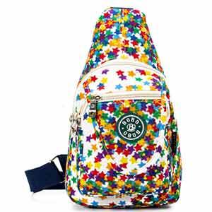 chrysansmile travel crossbody sling bag