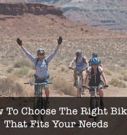 how to choose the right bike