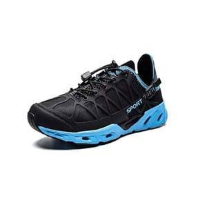 KEEZMZ Mens Womens Quick Drying Aqua Water Shoes for Sports Walking Outdoor Running Hiking Beach Swim Surf Diving Boating Fishing