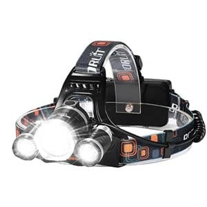 led, 5000 lumens max 4 modes waterproof