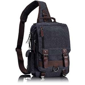 leaper retro messenger bag