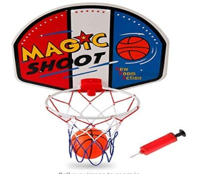 liberty imports magic shot basketball hoop set