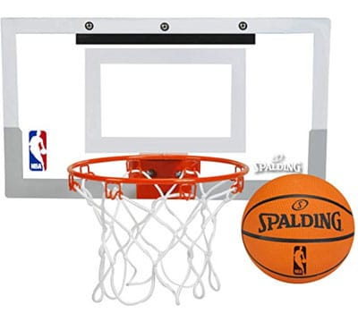 spalding NBA slam jam over the door