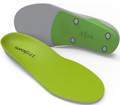 superfeet GREEN insoles,professional grade high arch orthotic insert