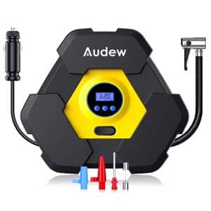 audew portable air compressor