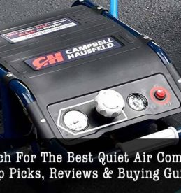 best quiet air compressors