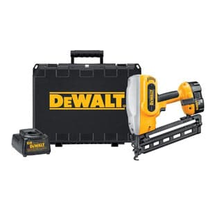 dewalt dc618k xrp 18-volt finish nailer kit