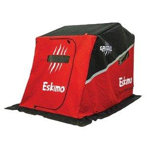 eskimo 26500 grizzly flip sled shelter