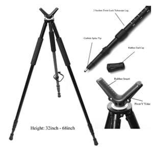 hammers telescopic shooting tripod
