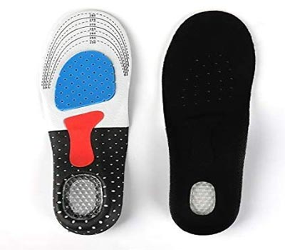 sport ultra comfortable arched insoles, multi sport orthotic insole