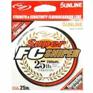 sunline super fc sniper fluorocarbon