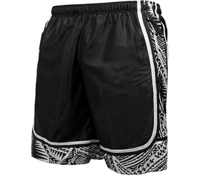 viiviiKay men's long dazzle baseketball training workout gym athletic shorts