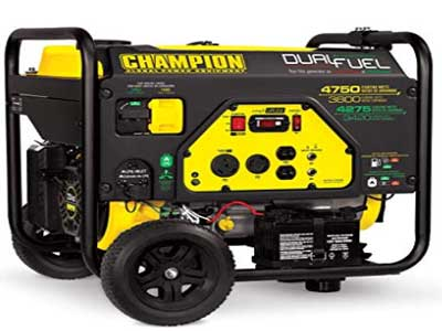 champion 3800 watt dual fuel generator