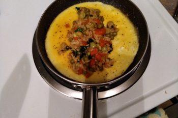GluteFree, Vegetarian Omurice
